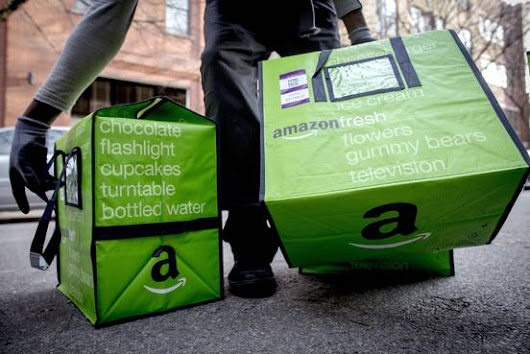 Amazon to Expand Grocery Business With New Convenience Stores