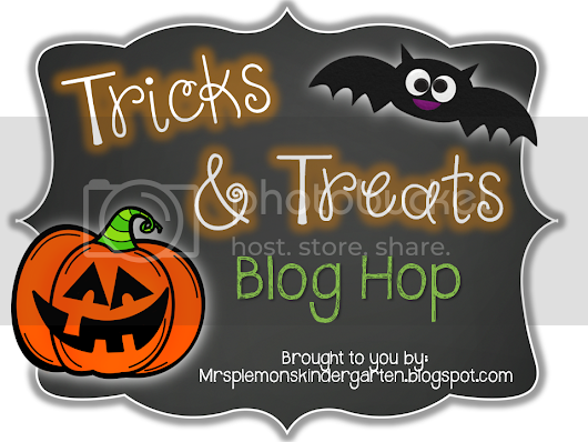 Tricks and Treats Blog Hop!