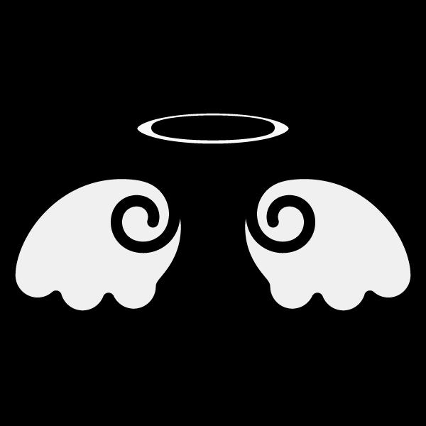 かわいい天使の羽根の無料イラスト商用フリー オイデ43