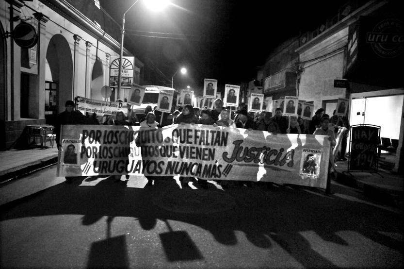 Marcha del Silencio, el 20 de mayo, en Carmelo.