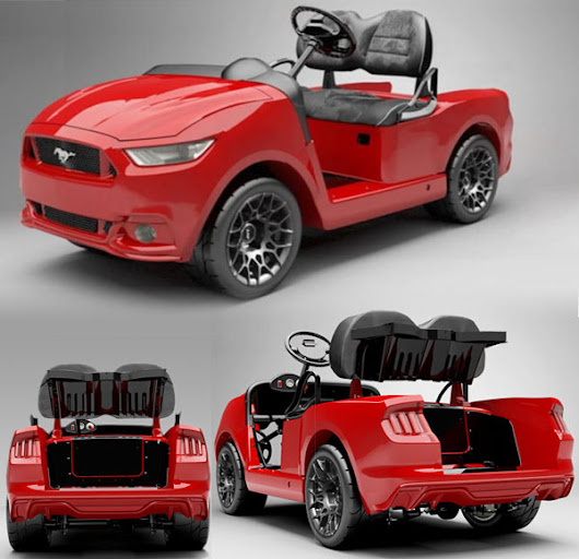 Ford Mustang Golf Cart - Autopten.com