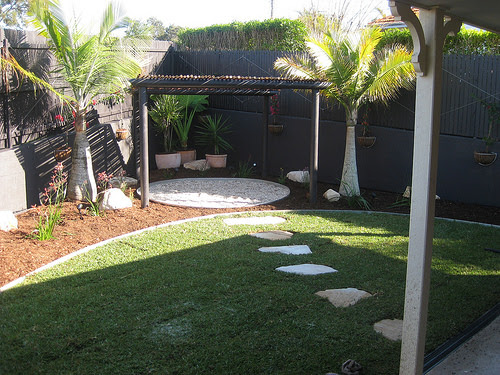 Timber retaining wall services in Brisbane - Clean Ups Garden's diary
