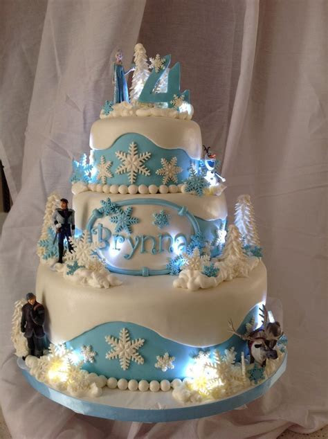 Frozen Disney's Cake Toppers   Disney Frozen Cake Ideas