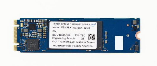 The Intel Optane Memory (SSD) Preview: 32GB of Kaby Lake Caching