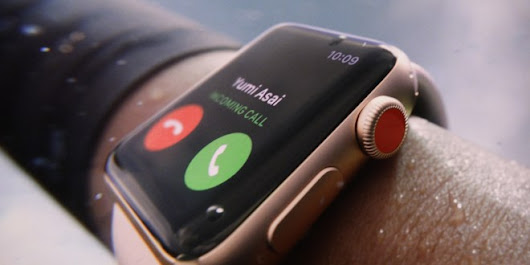 Apple Watch Series 3 With LTE Connectivity, eSIM Announced