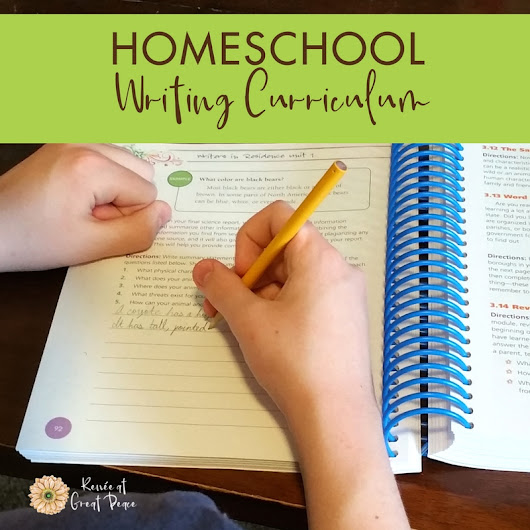 Homeschool Writing Curriculum Takes the Fear Out of Writing