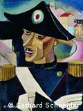Pintor quase desconhecido: Valentin Nagel, 'Oficial italiano'