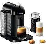 Nespresso VertuoLine Coffee and Espresso Machine Bundle Black