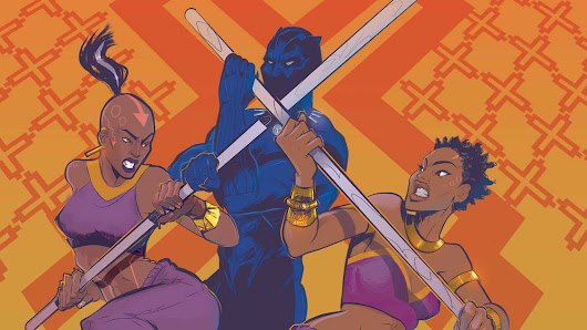 """Black Panther: World of Wakanda"" wins the 2018 GLAAD Media Award for outstanding comic 
