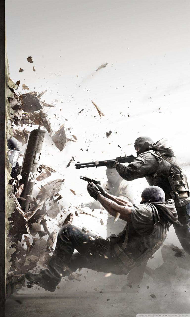 Tom Clancys Rainbow Six Siege 4k Hd Desktop Wallpaper