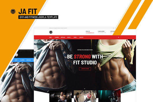 Review | Features : Best gym and fitness Joomla template - JA Fit | Joomla Templates and Extensions Provider