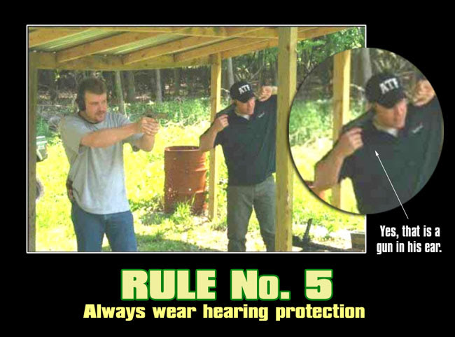 ATF hearing protection