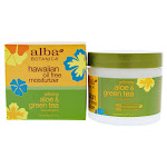 Hawaiian Green Tea Oil Free Moisturizer by Alba Botanica for Unisex - 3 oz Moisturizer