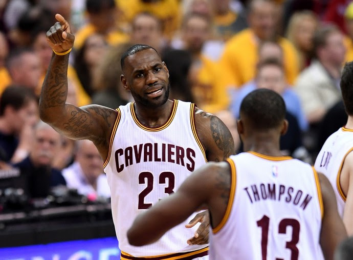 LeBron James Cleveland Cavaliers (Foto: Getty Images)