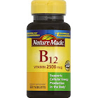 Nature Made B-12 Vitamin, 2500 mcg, Tablets - 60 count