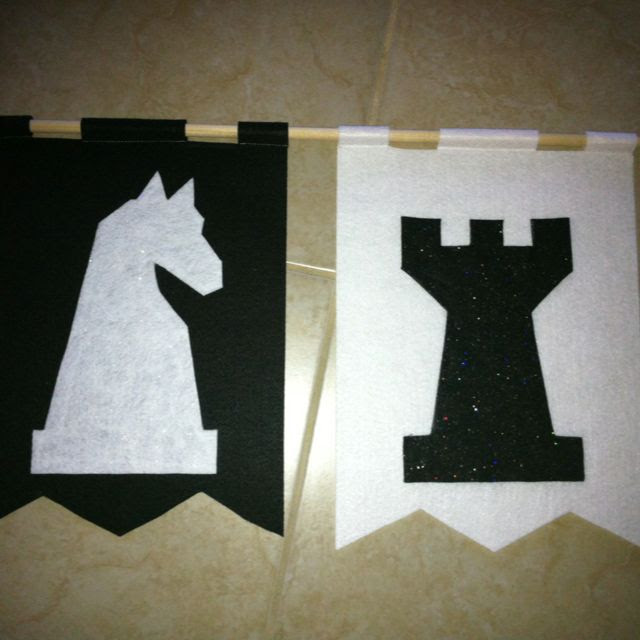 Classroom banners for crews. Chess. Castle theme classroom. #Kingdom #Chronicles #VBS #castle