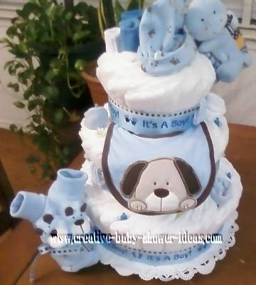How To Make A Diaper Cake For A Boy Daniel Radcliffes