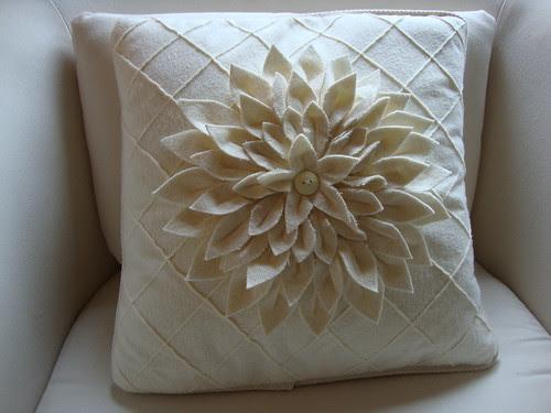 Amy Butler Mum pillow, restuffed