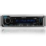 Single Din Bluetooth Radio Kenwood KMR-M322BT