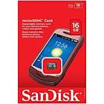 SanDisk microSD Card - 16 GB