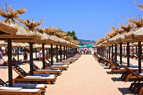 Golden Sands beach, Bulgaria