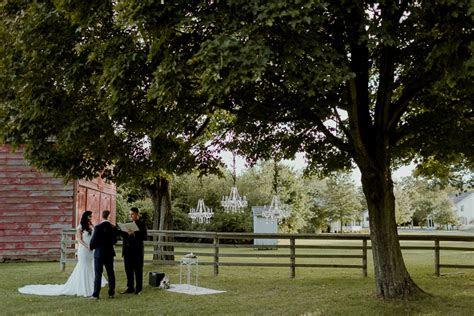 bethpage village restoration  york barn wedding