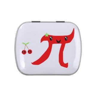 Cherry Pi Jelly Belly Candy Tins