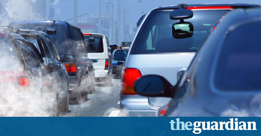 UK government agrees to publish air pollution strategy in next week | Environment | The Guardian