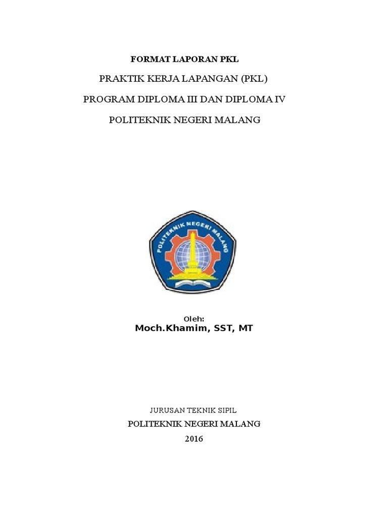 Contoh Kata Pengantar Laporan Pkl Mahasiswa - Untaian Kata ...