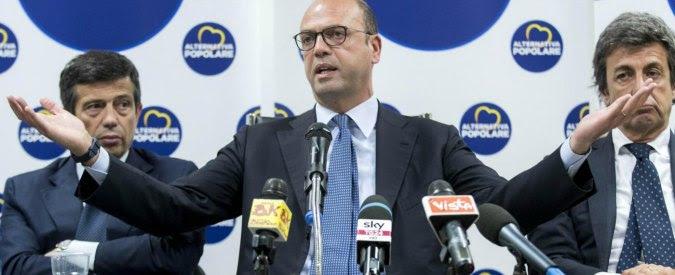 """Legge elettorale, Alfano: """"Sbarramento non è un problema. Ma impazienza Pd per tornare a Palazzo Chigi costerà caro"""""""