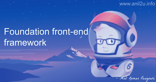 Foundation front-end framework installation - Anil Labs