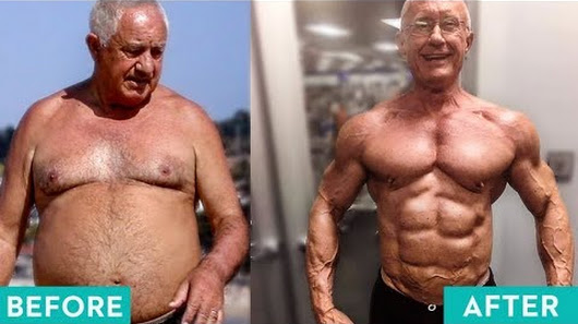 fit over 50s years old men l best fitness body transformations before after 2018