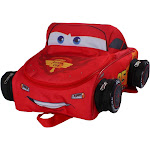 """Disney Cars 12"""" Kids' Backpack - Red, Boy's, Size: Small"""