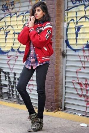178 It 39 S World Series Time Aka Your Perfect Chance To Try This Varsity Jacket Outfit Idea