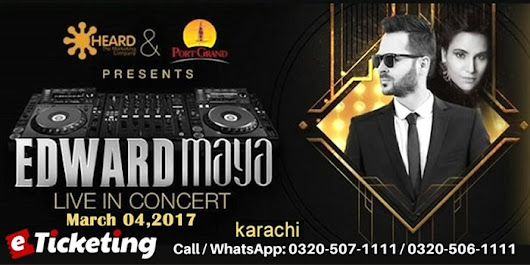 KNOW EDWARD MAYA BEFORE YOU MEET HIM AT PORT GRAND | eTicketing.pk | e-Tickets for Concerts, Theatre, Sports and Entertainment events in Pakistan