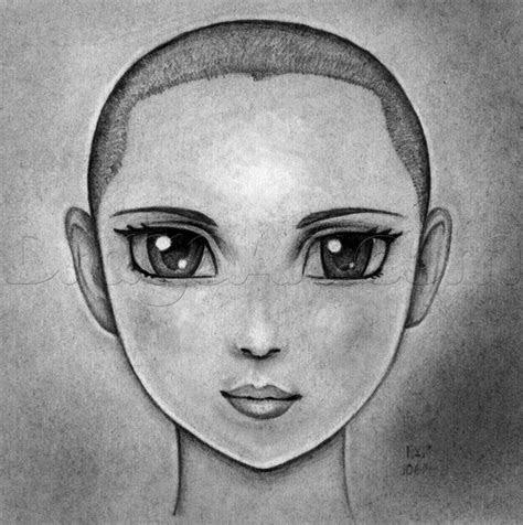 draw anime faces  pencil step  step anime