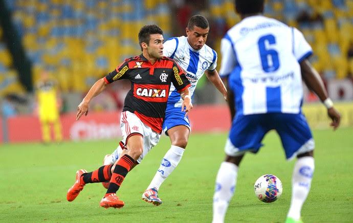 Arthur Maia, Flamengo X Barra Mansa (Foto: Andre Durão)