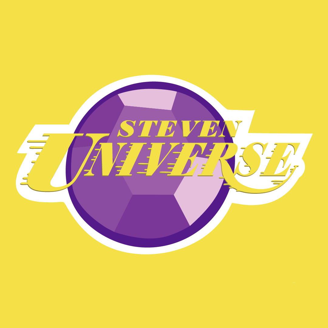 SO I was got the chance to make a bunch of mashed-up logos from different NBA teams with Cartoon Network characters for Cartoon Network social media! Here are the Steven Universe ones I made plus the...