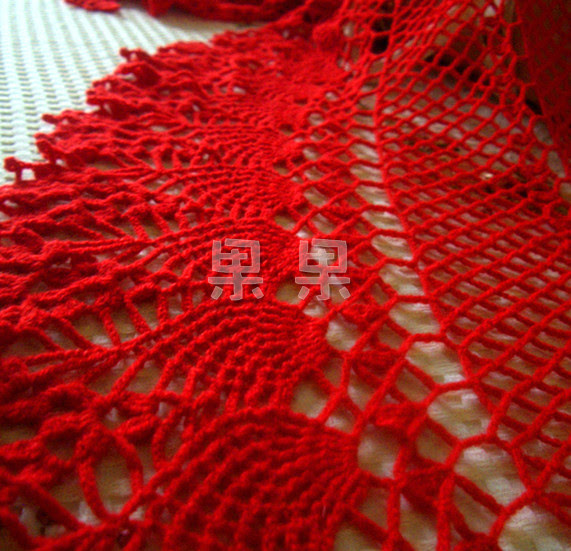 Spectacular: RED SHAWL CROCHET