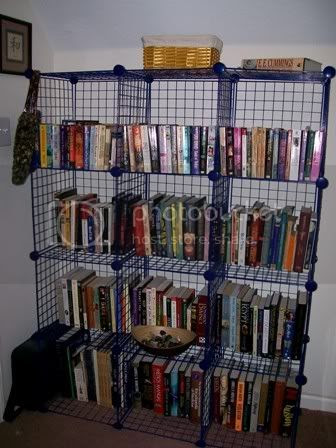 The bookcase that PBW built