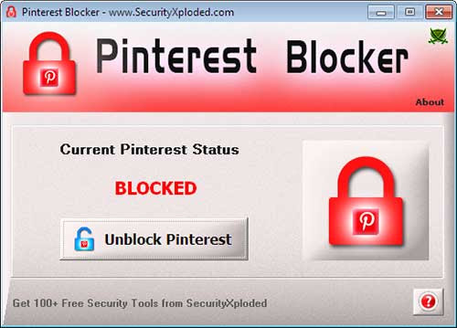 Pinterest Blocker Tool : Free Software to Block or Unblock Pinterest on Windows |