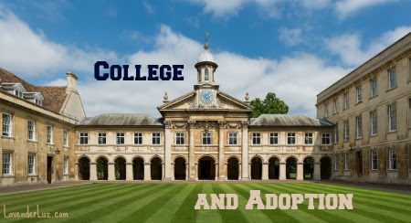 Adoption and the College Application Process | Lavender Luz