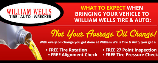 Tires Coupons Starkville, MS Columbus, MS West Point, MS | William Wells Tire & Auto