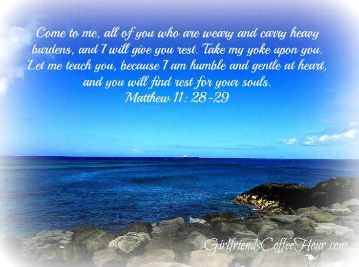 Matthew 11: 28-29