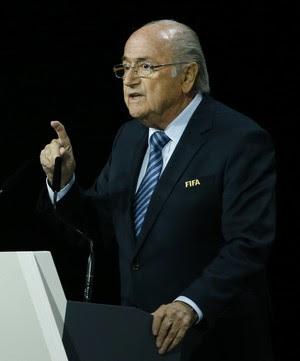 Joseph Blatter - Congresso da Fifa (Foto: Reuters)