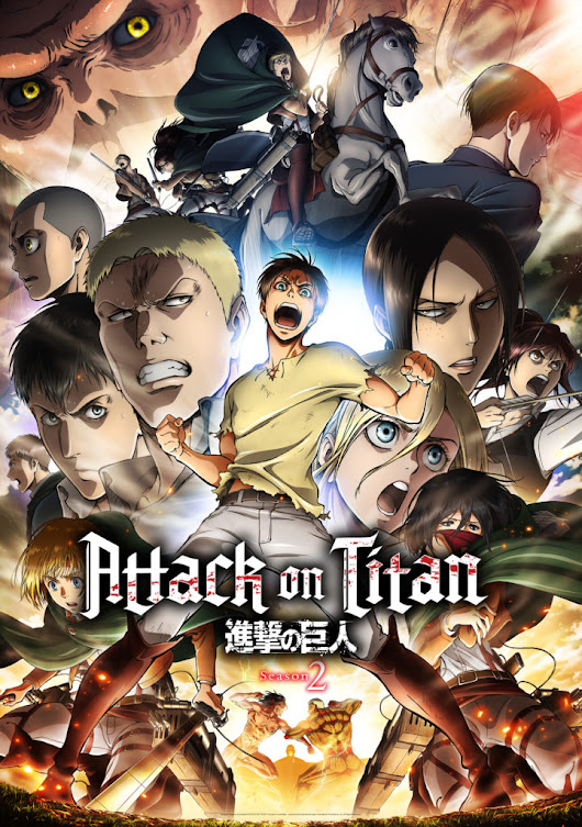 The Titans Are Among Us - Attack on Titan Season 2 Arrives!