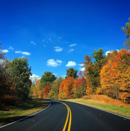 Fall Foliage on the Scenic Natchez Trace Parkway – Natchez Trace Compact
