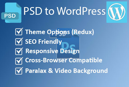 I will convert PSD to Full Functional WordPress Theme
