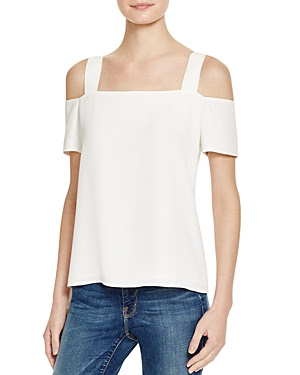 Cooper and Ella Ava Cold Shoulder Top
