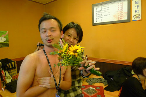 Seng Tat was the stripper at Thien See's birthday party